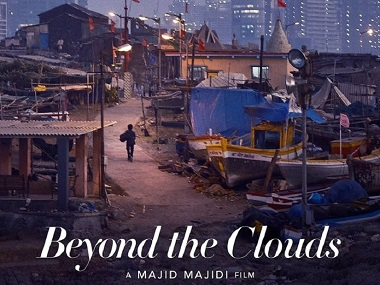 The poster of Beyond the Clouds. Image from Twitter