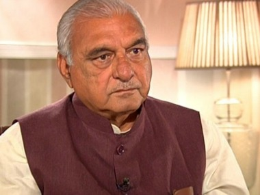 File image of Bhupinder Singh Hooda. News18