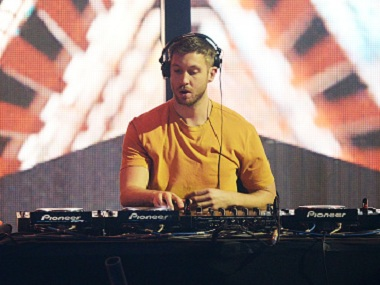 Calvin Harris. Image via Getty Images.