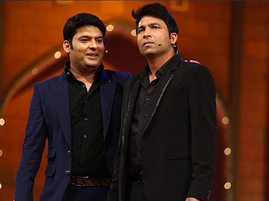 Kapil Sharma and Chandan Prabhakar. Image from Twitter.