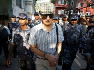File photo of Charles Sobhraj. Reuters