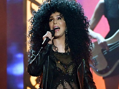 Cher. Image from Getty Images.