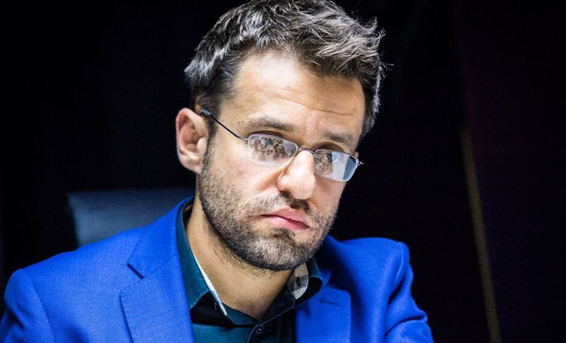 …And Aronian determined! image courtesy: Lennart Ootes