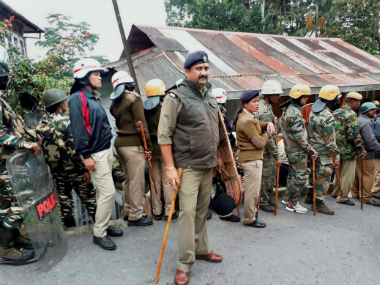 GJM has called for an indefinite strike in Darjeeling. PTI file image