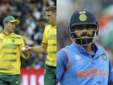 De Villiers-led team lsot a crucial match versus Pakistan while India lost a high-scoring game agaisnt Lankans. AFP