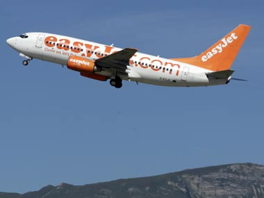 File image of easyJet plane. Reuters