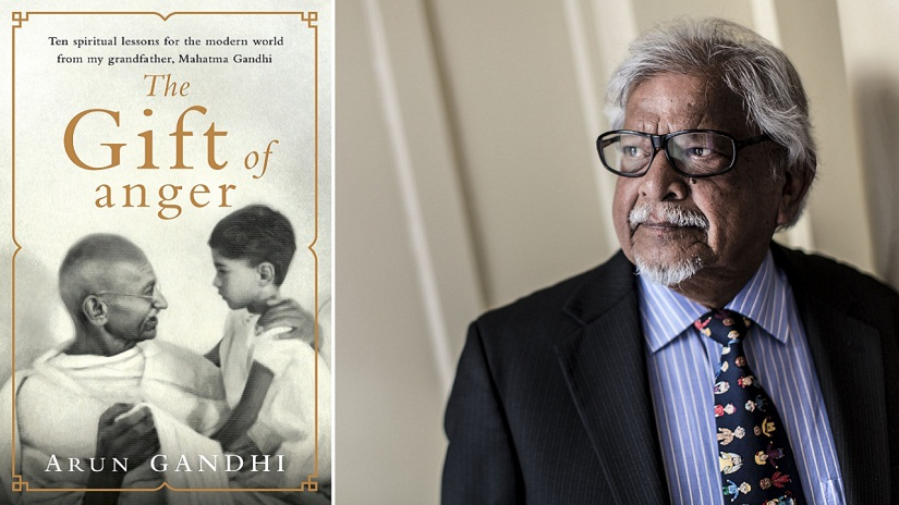 The Gift of Anger is based on 11 life lessons taught by Mahatma Gandhi to his grandson, Arun Gandhi