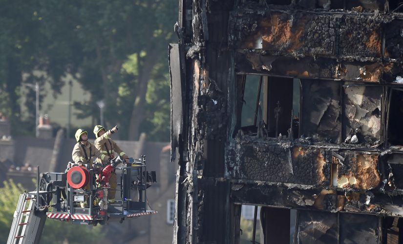 The new exterior cladding used in a renovation on London's Grenfell Tower may have been banned under United Kingdom building regulations. Reuters