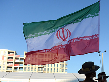 Flag of Iran. Getty Images.