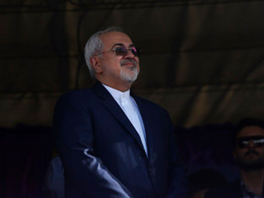 File image of Iranian foreign minister Zarif. AP