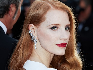 Jessica Chastain. Image from Getty Images.
