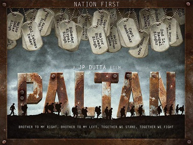 The poster of Paltan. Image from Twitter