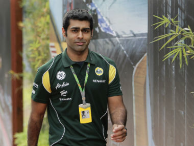 File photo of Karun Chandhok. Reuters