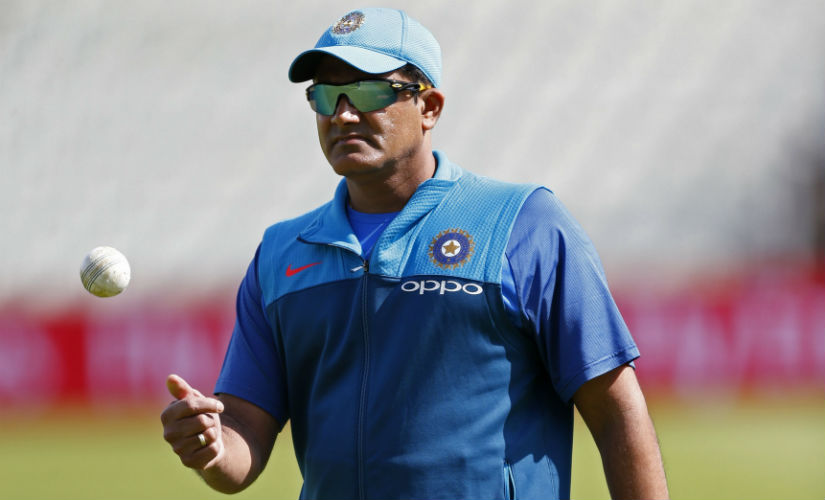 Team India leaves for West Indies, Kumble stays back for ICC meet