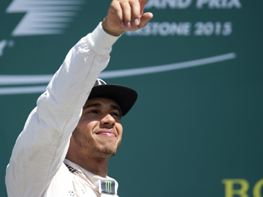 Lewis Hamilton needs a win to breath down Vettel's neck. AFP