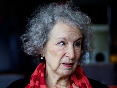 Margaret Atwood. Image from Twitter.