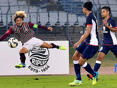 File image of Mohun Bagan in action. PTI