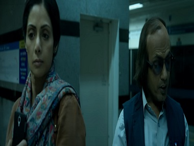 Sridevi and Nawazuddin Siddiqui in a still from MOM. YouTube