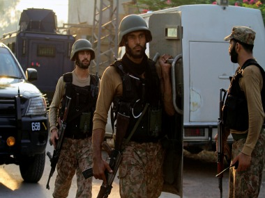 File image of Pakistani soldiers. Reuters