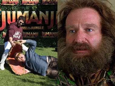 Jumanji: Welcome to the Jungle - Jumanji. Images from Instagram.