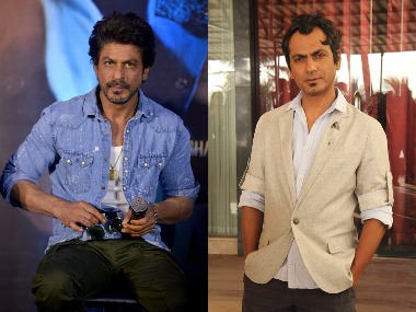 Shah Rukh Khan - Nawazuddin Siddiqui. Images from Getty Images.