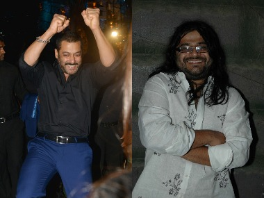 Salman Khan - Pritam Chakraborty. Images from Getty Images.