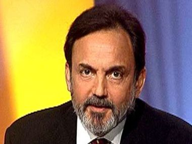 File image of NDTV's co-founder Prannoy Roy. Image courtesy: Twitter@PrannoyRoyNDTV