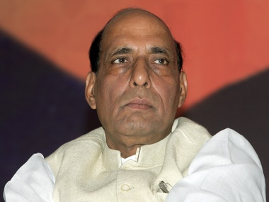 File image of Rajnath Singh. Reuters