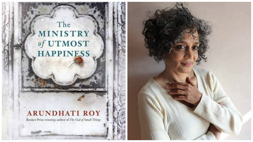 The Ministry of Utmost Happiness is Arundhati Roy's second novel. Images via Facebook