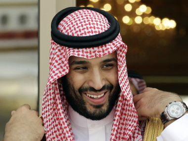 A file image of Mohammed bin Salman who was appointed as the crown prince. AP