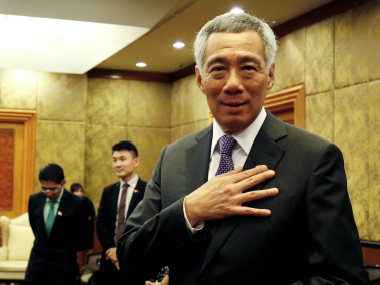 File image of Singapore prime minister. Reuters