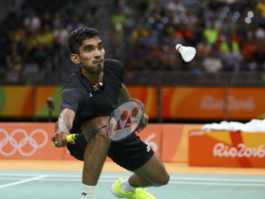 File photo of Kidambi Srikanth. Reuters