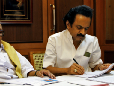 File photo of MK Stalin. Reuters
