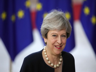 File image of Theresa May. AP