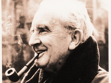 JRR Tolkien. Image from Facebook