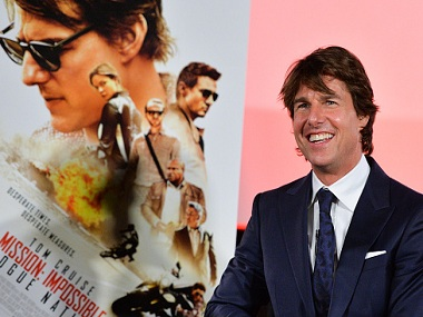 TORONTO, ON - JULY 27: Actor Tom Cruise attends the Canadian Fan Premiere of 'Mission: Impossible - Rogue Nation' at the Cineplex Scotiabank Theatre on July 27, 2015 in Toronto, Canada. (Photo by George Pimentel/Getty Images for Paramount Pictures International)