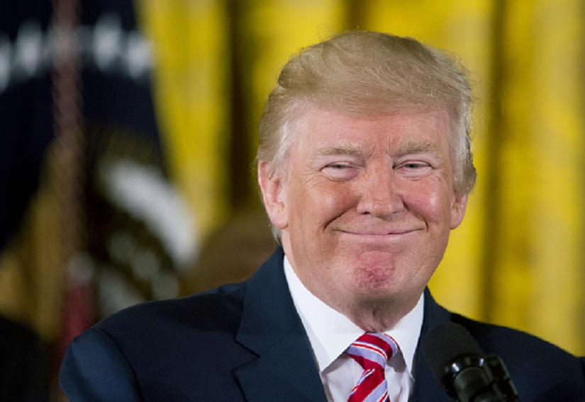 President Donald Trump. Image from Getty Images.