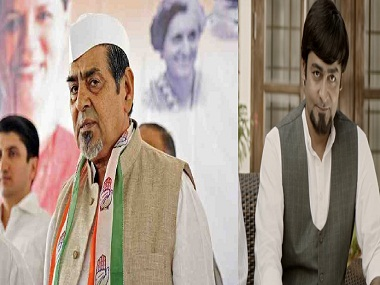 File image of Jagdish Tytler and a still from Indu Sarkar.