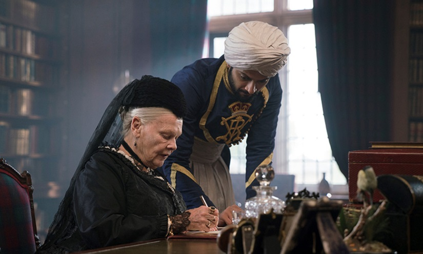 Still from Victoria & Abdul, starring Judi Dench and Ali Fazal