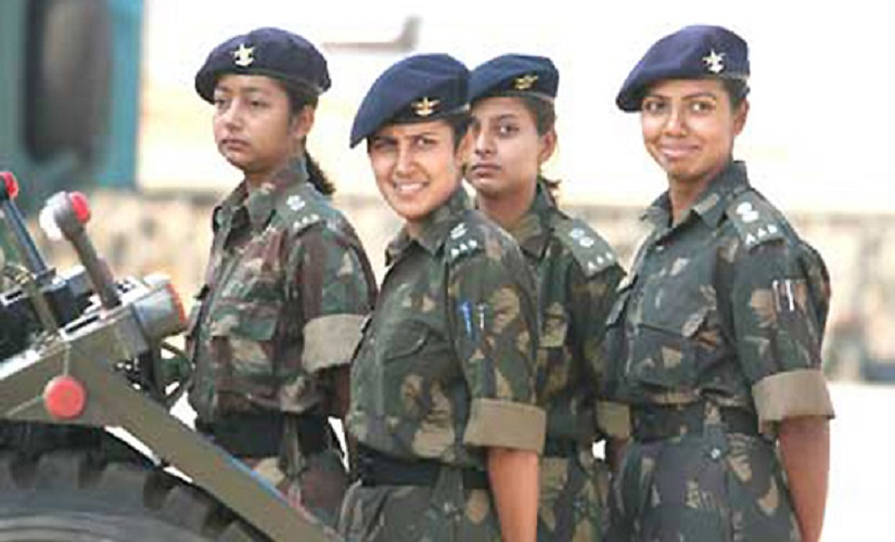 Women in the Indian Army. PTI