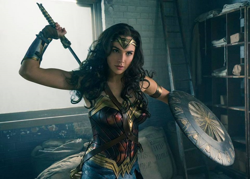 Gal Gadot in and as 'Wonder Woman'