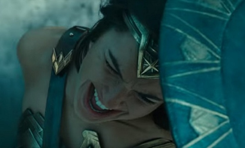 A still from Wonder Woman's trailer. Youtube screengrab