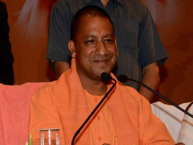 File image of Yogi Adityanath. News18
