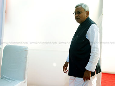 File image of Bihar chief minister Nitish Kumar. Firstpost/Naresh Agarwal