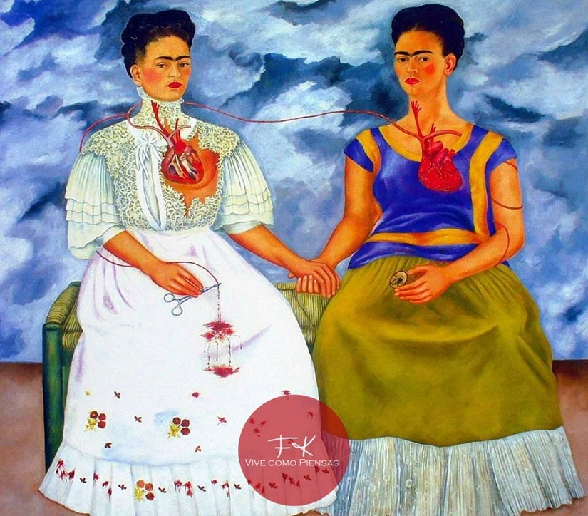 The Two Fridas. Image from Facebook
