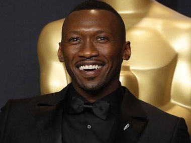 Mahershala Ali at the Oscars. Image via Facebook