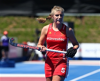 Sarah Haycroft of England (Photo by Kieran Galvin/NurPhoto)