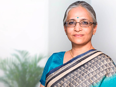 Aarthi Subramanian, Chief Technical Officer, Tata Sons. Courtesy: TCS website
