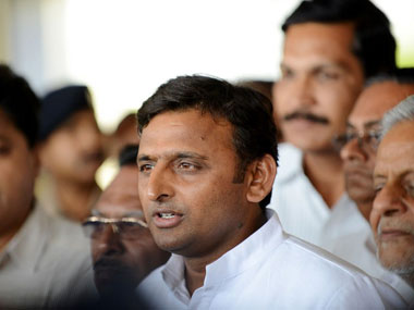 File image of Akhilesh Yadav. AFP