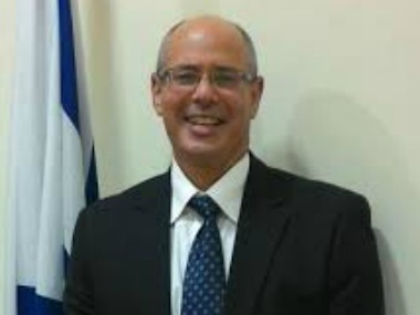 File image of David Akov. www.embassies.gov.il